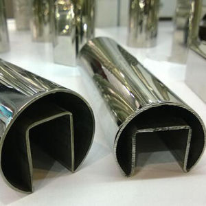 200 300 400 Series Stainless Steel Special Square Round Pipe pictures & photos