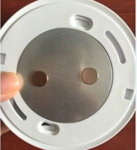 Magnet Plate with Customerized Size (for smoke alarm) pictures & photos