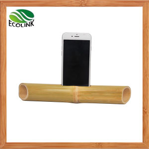 Portable Bamboo Mobile Phone Speaker for iPhone pictures & photos