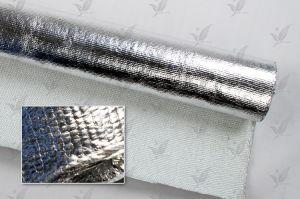 Fireproof Aluminum Foil Coated Fiberglass Cloth pictures & photos