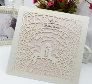 Hollowed-out Greeting Cards Fancy Invitation Card Printing pictures & photos