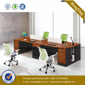 Modern Aluminum Glass Wooden Cubicle Workstation / Office Partition (HX-GD041F) pictures & photos