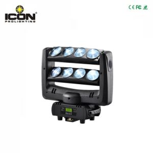 8X10W Cool White Color Spider Beam LED Moving Head Light pictures & photos