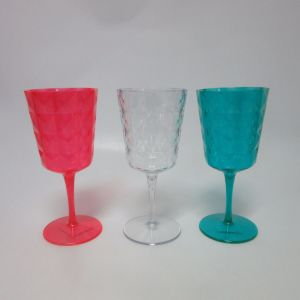 PS Wine Glass Colored Wine Goblet Tableware pictures & photos