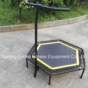 Adult Jumping Fitness Indoor Hexagon Mini Rebounder Trampoline Park pictures & photos