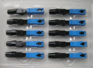 FTTH Sc Fast Connector/Fiber Optical Connector/Fiber Optic Fast Connector pictures & photos