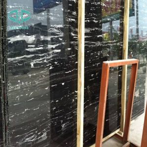 Sliver Dragon Marble/Black White Vein Slabs for Project pictures & photos