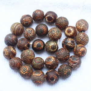 Old Eye Dzi Agate 8-14mm Round Loose Beads pictures & photos