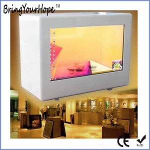 23.6 Inch Windows I3 Transparent LCD Display Showcase (XH-DPF-236A) pictures & photos