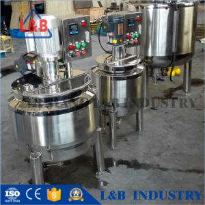 Stainless Steel Jacketed Industrial Cosmetic Speed Mixer Tanks pictures & photos