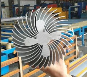 Section Aluminium/Aluminum Extrusion Sunflower Radiator pictures & photos