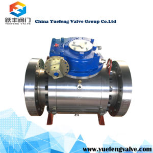 Full Bore Flanged Trunnion Ball Valve pictures & photos