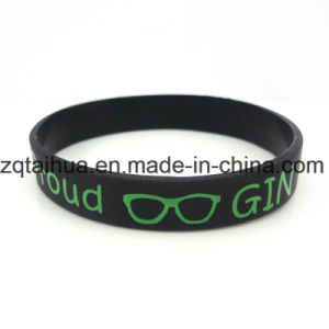 Hot Selling Custom Silicone Wristband with Thb016 pictures & photos