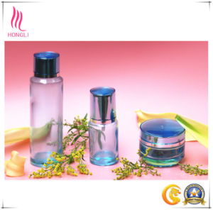 Simple Clear Empty Glass Packaging for Cosmetics pictures & photos