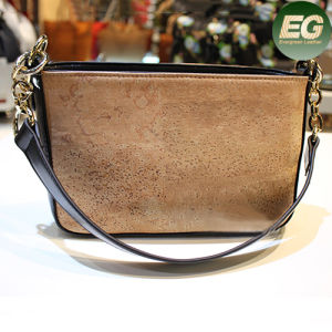OEM New Real Cork Leather Ladies Shoulder Bags Cork1 pictures & photos