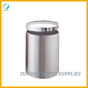 Hotel Round Metal Garbage Bin pictures & photos