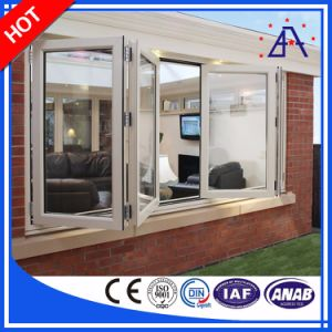 Aluminum/Aluminum Folding Windows and Doors with Different Color pictures & photos