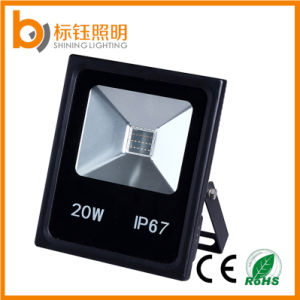 20W IP67 Slim Waterproof Outdoor LED Flood Light Projector Lamp pictures & photos