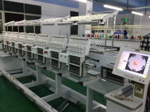 High Quality Cap Feiya Embroidery Machine Price with Tajima Software pictures & photos