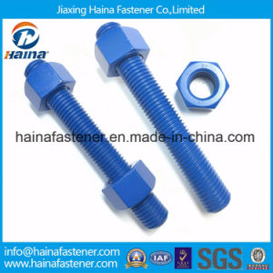 ASTM A325m Grade 8.8 Steel Structural Bolts with Nut and Washer with Teflon Serface Treatment pictures & photos
