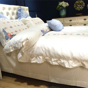 Durable Low Price Polyester Coastal Bedding for Apartment pictures & photos