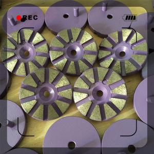 Magic Type Concrete Floor Metal Diamond Grinding Pad pictures & photos