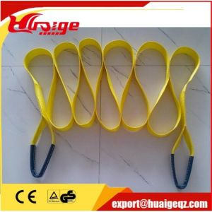 Polyester Material Woven Flat Lifting Webbing Sling with Standard Color Code pictures & photos