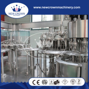 China High Quality Monoblock 3 in 1 Juice Production Line (PET bottle-screw cap) pictures & photos