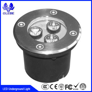High Quality LED Underground Light 3W IP68 Stainless Housing LED Light pictures & photos
