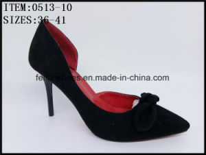 Fashion Lady High Heels Sharp Pointed Dressing Sandals Shoes (0513-64) pictures & photos