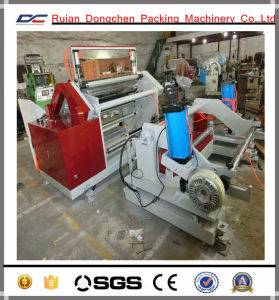 Paper Label Sticker or Plastic String Roll Slitting Rewinding Machine (BC-Y)