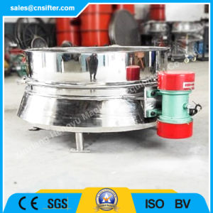 Round Vibrating Screen Machine for Powdered Sugar pictures & photos