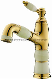 New Design Jade Pull-out Basin Faucet (Zf-M03-3) pictures & photos