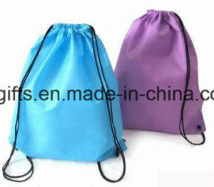 Promotional Gifts Custom Drawstring Bag (BG04) pictures & photos