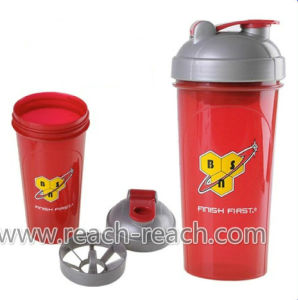 700ml Customized Plastic Protein Shaker Bottle (R-S052) pictures & photos