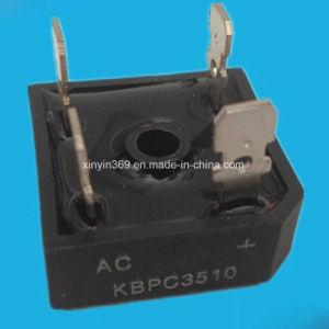 Single Phase Bridge Rectifier Module Kbpc3510 with Aluminum Base pictures & photos