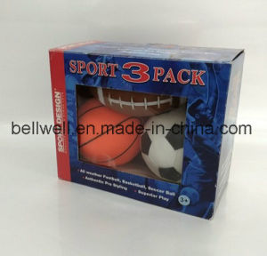 Mini Rugby Ball Promotion Toy 3pk Ball For Children pictures & photos