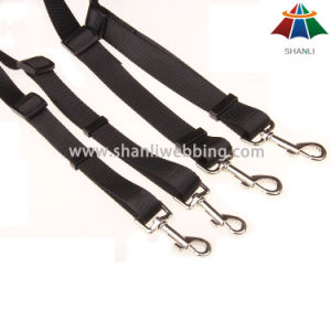 Hot-Sale High-Quality Solid Color 18mm Polyester/Nylon 1 to 2 Adjustable Leash pictures & photos