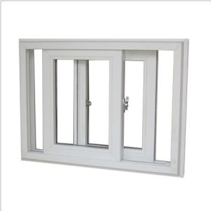 UPVC Heat Insulation Casement Window PVC Casement Window PVC Window pictures & photos