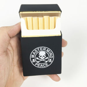 New Arrival Unique Design Skeleton Shaped Foldable Silicone Cigarette Case pictures & photos