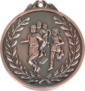 2017 Wholesale Antique Red 3D Bronze Medal Sports Medals pictures & photos