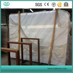 Guangxi White/Lightning White/White Marble for Slab/Tiles/Flooring/Building Stone pictures & photos