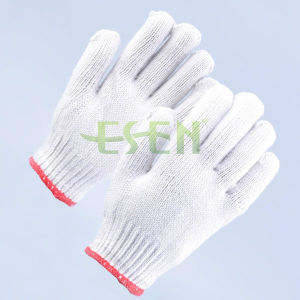 Good Knitted Cotton Work Glove Poly Cotton Knitted Gloves Work Gloves pictures & photos