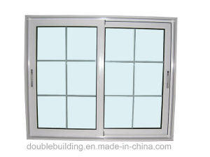 PVC Window White UPVC Sliding Window pictures & photos