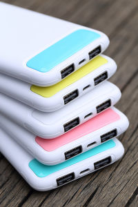 ABS PC Fire Protection 8000mAh|10000mAh Portable Power Bank Shell UV Piano Lacquer Mobile Power Bank pictures & photos