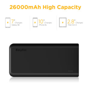 Easyacc 20000mAh Powerbank with 4A Dual-Input Fastest Charge pictures & photos