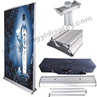 Luxury Double Sides Cnyk Printing Banner Display Stand (SR-07) pictures & photos