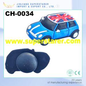 3D Child Clog Charm, Fashion Car Rubber Shoe Decoration pictures & photos