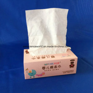 100%Cotton Non-Woven Tissue for Baby Wipe pictures & photos