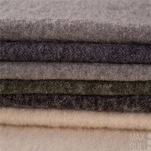 Wool/Cotton Fabric for Winter Coat in Gray pictures & photos
